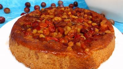 noix de cajou : Tarte tatin aux petites prunes