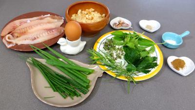 Ingrédients pour la recette : Boulettes de daurade