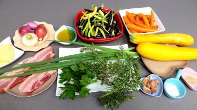 Ingrédients pour la recette : Sauté de haricots verts
