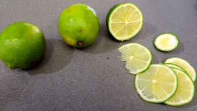 Confiture de courgettes et citrons verts - 1.4