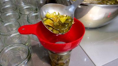 Confiture de courgettes et citrons verts - 5.2