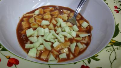 Salade de Reines-claude et fruits du verger - 3.2