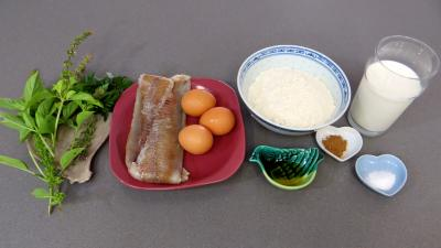 Ingrédients pour la recette : Beignets de lieu noir