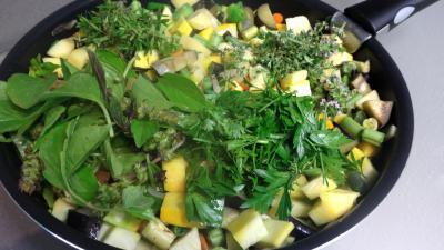 Sauté de potimarron et légumes - 7.2