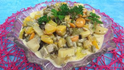 Sauté de potimarron et légumes - 8.2