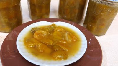Compote de mirabelles à la rhubarbe - 5.3