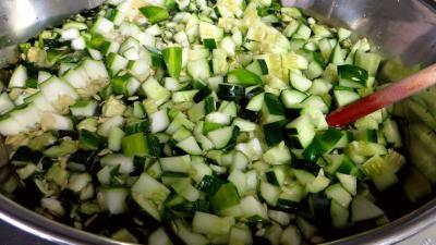 Confiture de concombre à la verveine - 2.2
