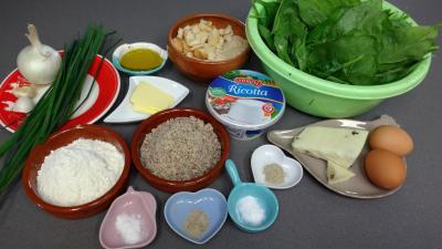 Ingrédients pour la recette : Boulettes d'épinards