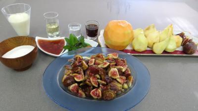 Ingrédients pour la recette : Salade de poires