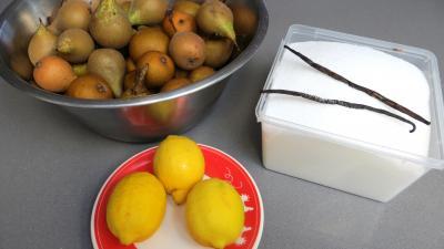 Ingrédients pour la recette : Gelée de poires
