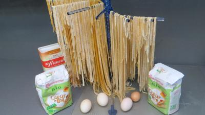 Pâtes alimentaires : Séchage des tagliatelles fraîches