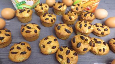 Image : Muffins aux poires