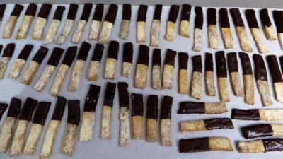 Barres sablées au chocolat - 6.2