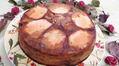 Image : Assiette de pudding aux physalis