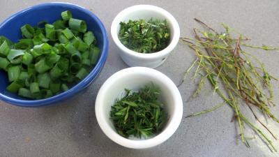 Panaché de légumes au confit de canard - 2.3