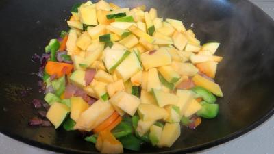 Panaché de légumes au confit de canard - 5.2