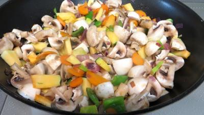 Panaché de légumes au confit de canard - 5.4