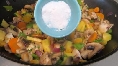 Panaché de légumes au confit de canard - 6.2