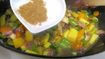 Panaché de légumes au confit de canard - 6.4