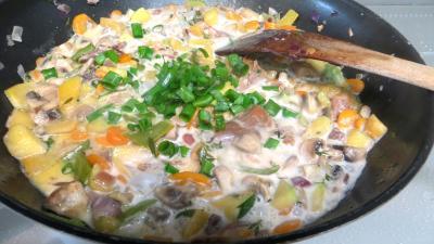 Panaché de légumes au confit de canard - 7.4