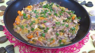 Panaché de légumes au confit de canard - 8.2
