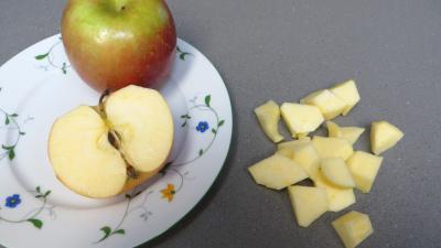 Clafoutis aux pommes et châtaignes - 2.2