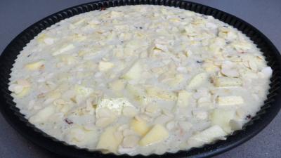 Clafoutis aux pommes et châtaignes - 4.3