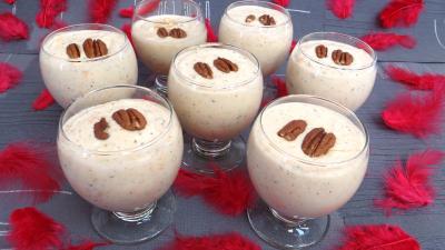 Desserts : Verres de tiramisu aux kakis et stévia pour diabétiques
