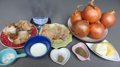 Ingrédients pour la recette : Oignons farcis