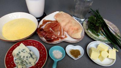Ingrédients pour la recette : Polenta façon landaise
