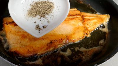 Salade au saumon - 4.2