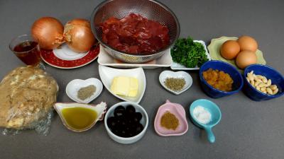 Ingrédients pour la recette : Mousse de foies de volaille