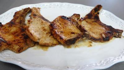 Côtes de porc à la moutarde - 4.1