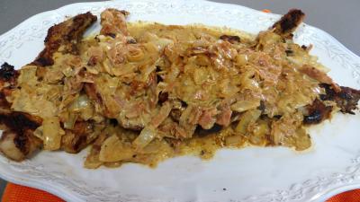 Côtes de porc à la moutarde - 6.3