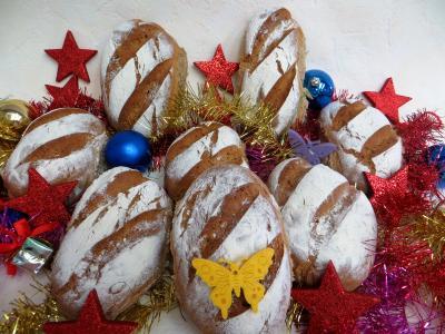 Image : Petits pains rustiques aux farines