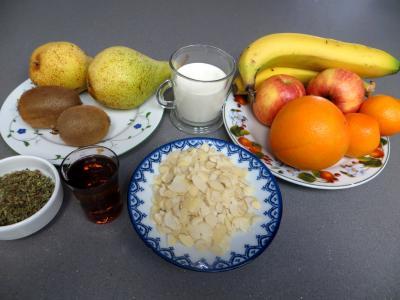 Ingrédients pour la recette : Salade de fruits à la stévia pour diabétiques