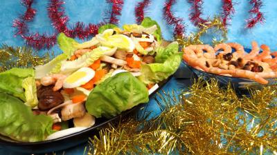 Cuisine diététique : Blettes vapeur aux crevettes