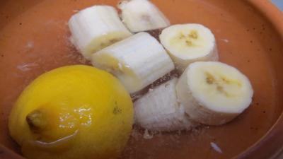 Omelette à la banane caramélisée - 1.2