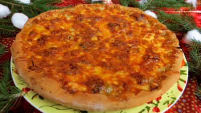 Pizza à l'agneau - 8.4