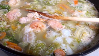 Soupe de crevettes - 6.1