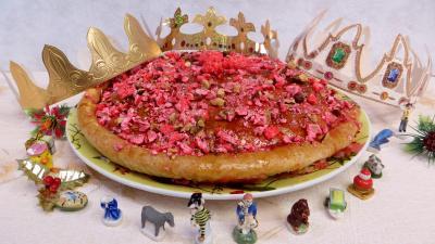 Crème pâtissière : Galette des rois aux pralines