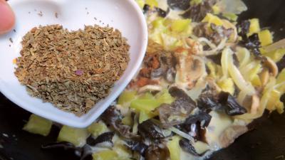 Omelette farcie aux champignons - 5.2