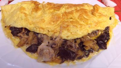 Omelette farcie aux champignons - 8.2