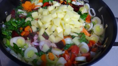 Soupe de légumes et tomme de brebis - 5.4