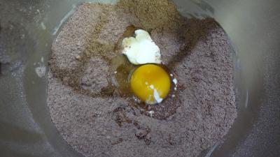 Pâte sablée au chocolat - 2.2