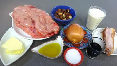 Ingrédients pour la recette : Ris de veau façon chinoise