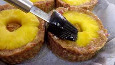 Galettes de boeuf à l'ananas - 9.1