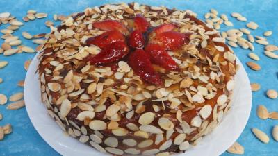 fraise : Cheesecake aux fraises