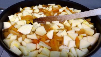 Confiture d'abricots secs et pommes - 3.3