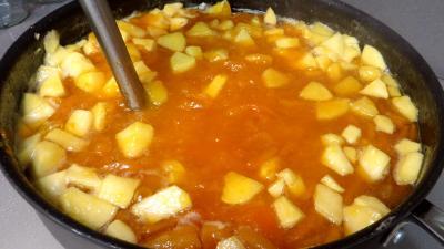 Confiture d'abricots secs et pommes - 4.2